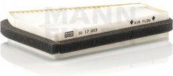 Kabínový filter MANN FILTER CU 17 003