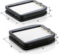 Kabínový filter MANN FILTER CU 18 000-2
