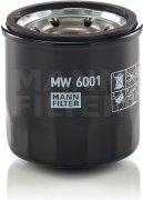 Olejový filter MANN FILTER MW 6001