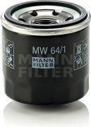 Olejový filter MANN FILTER MW 64/1
