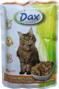 DAX kapsička kuracia pre mačky - 100g