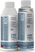 PRO-TEC RADIATOR OIL CLEANER K1 + K2 - 188ml + 188ml
