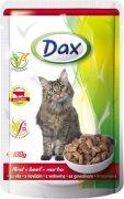 DAX kapsička hovädzia pre mačky - 100g