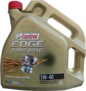 CASTROL EDGE TURBO DIESEL TITANIUM FST 5W-40 - 4l