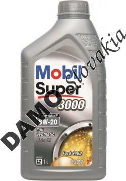 MOBIL SUPER 3000 FORMULA F 5W-20 - 1l