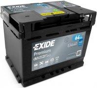 EXIDE PREMIUM 12V 64Ah 640A, EA640
