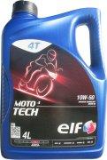 ELF MOTO 4 TECH 10W-50 - 4l