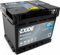 EXIDE PREMIUM 12V 47Ah 450A, EA472