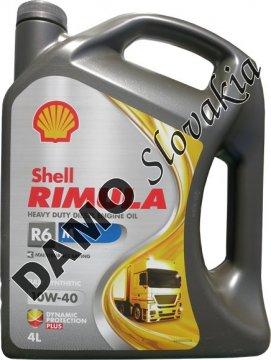 SHELL RIMULA R6 M 10W-40 - 4l