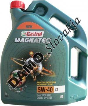 CASTROL MAGNATEC 5W-40 C3 - 5l