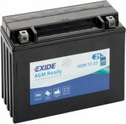 EXIDE BIKE 12V 21Ah 350A, AGM12-23