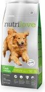 NUTRILOVE pes MATURE adult 7+ - 12kg