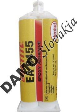 Loctite EA 9455 50ml - konštrukčné lepidlo, rýchle, pružné, ultračíre