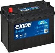 EXIDE EXCELL 12V 45Ah 300A, EB457
