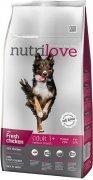 NUTRILOVE pes ADULT medium - 8kg