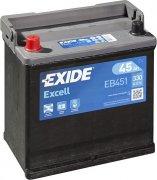 EXIDE EXCELL 12V 45Ah 330A, EB451