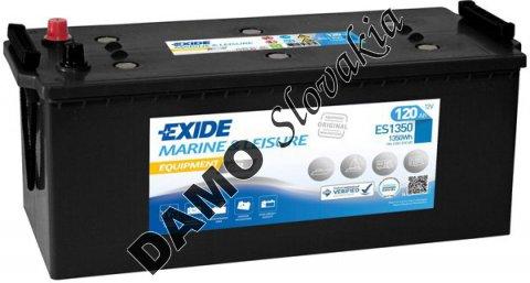 EXIDE EQUIPMENT GEL 12V 120Ah 1350Wh, ES1350