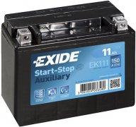 EXIDE AGM 12V 11Ah 150A, EK111