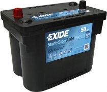 EXIDE AGM 12V 50Ah 800A, EK508