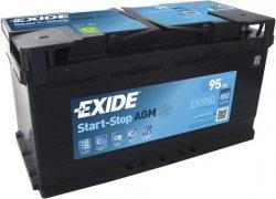 EXIDE AGM 12V 95Ah 850A, EK950