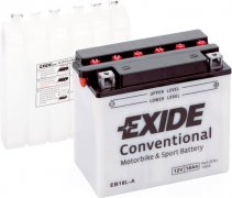 EXIDE BIKE 12V 18Ah 190A, EB18L-A