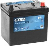EXIDE ECM 12V 60Ah 520A, EL604