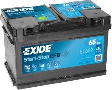 EXIDE ECM 12V 65Ah 720A, EL652