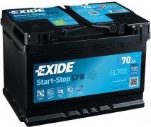 EXIDE ECM 12V 70Ah 720A, EL700