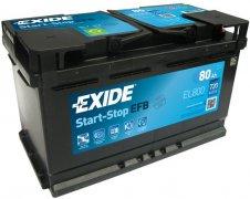 EXIDE ECM 12V 80Ah 720A, EL800