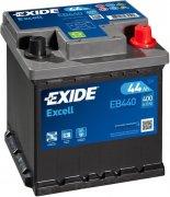 EXIDE EXCELL 12V 44Ah 400A, EB440