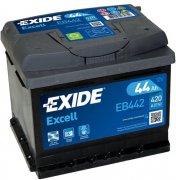 EXIDE EXCELL 12V 44Ah 420A, EB442
