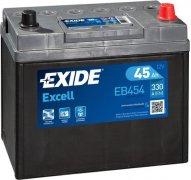EXIDE EXCELL 12V 45Ah 330A, EB454