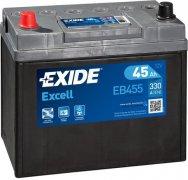 EXIDE EXCELL 12V 45Ah 330A, EB455