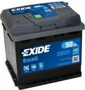 EXIDE EXCELL 12V 50Ah 450A, EB501