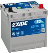 EXIDE EXCELL 12V 50Ah 360A, EB504