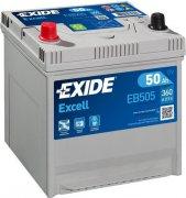 EXIDE EXCELL 12V 50Ah 360A, EB505