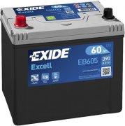 EXIDE EXCELL 12V 60Ah 390A, EB605