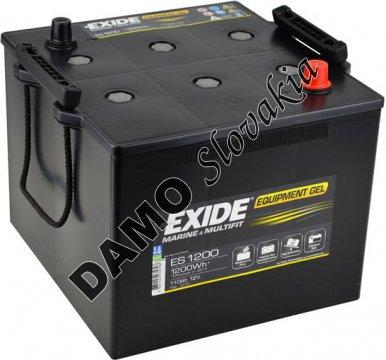EXIDE EQUIPMENT GEL 12V 110Ah 1200Wh, ES1200