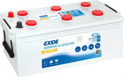 EXIDE EQUIPMENT 12V 230Ah 1600Wh, ET1600