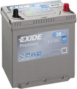 EXIDE PREMIUM 12V 38Ah 300A, EA386