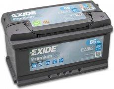 EXIDE PREMIUM 12V 85Ah 800A, EA852