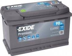 EXIDE PREMIUM 12V 90Ah 720A, EA900