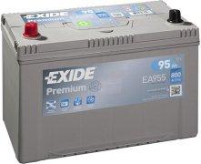 EXIDE PREMIUM 12V 95Ah 800A, EA955