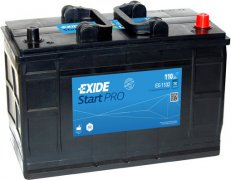 EXIDE PROFESSIONAL HD 12V 110Ah 750A, EG1102