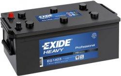 EXIDE PROFESSIONAL HD 12V 140Ah 800A, EG1403