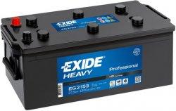 EXIDE PROFESSIONAL HD 12V 215Ah 1200A, EG2153