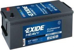EXIDE PROFESSIONAL POWER HDX 12V 185Ah 1150A, EF1853