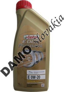 CASTROL EDGE PROFESSIONAL TITANIUM FST E 0W-20 - 1l