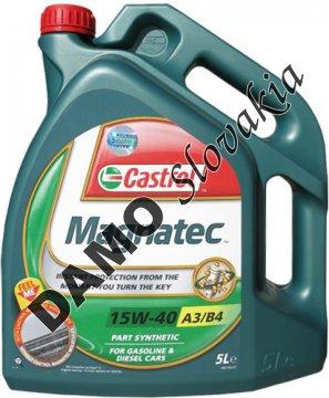 CASTROL MAGNATEC 15W-40 A3/B3 - 5l