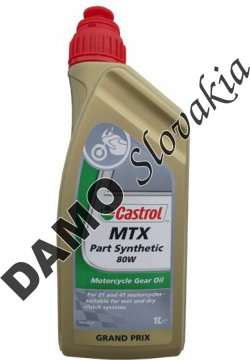 CASTROL MTX PART SYNTHETIC 80W - 1l